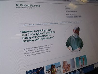 Mr Richard Matthews – Plastic Surgeon